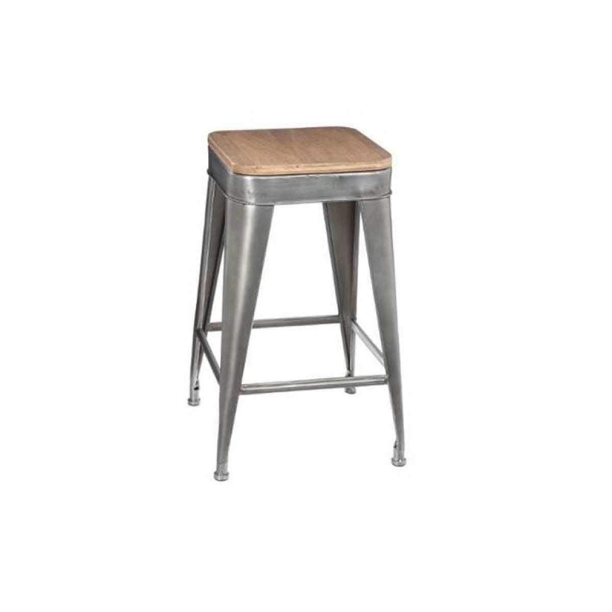 tabouret de bar en m tal joris gris les douces nuits de ma linge de maison. Black Bedroom Furniture Sets. Home Design Ideas