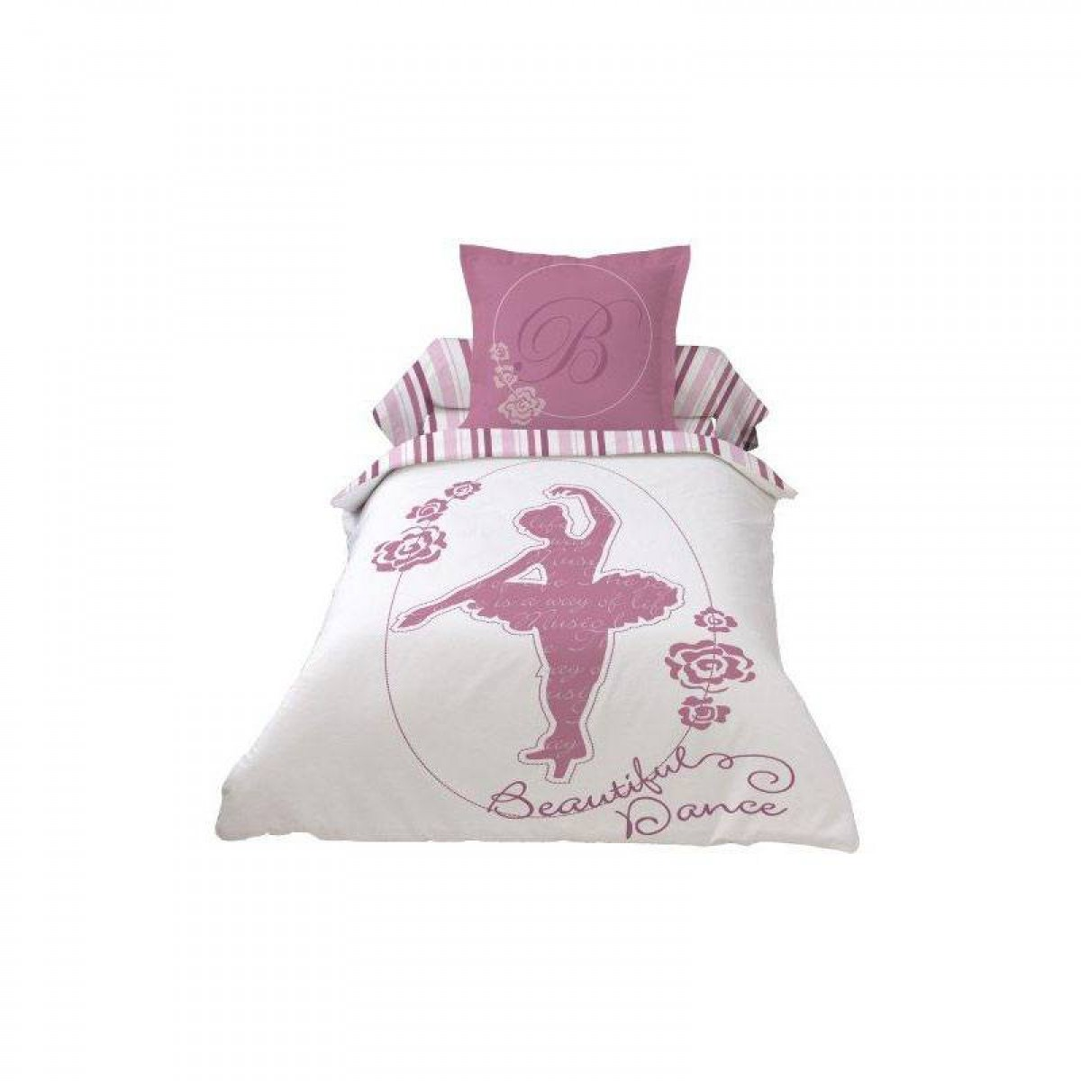 housse de couette 140x200cm beautiful ballerina dance. Black Bedroom Furniture Sets. Home Design Ideas