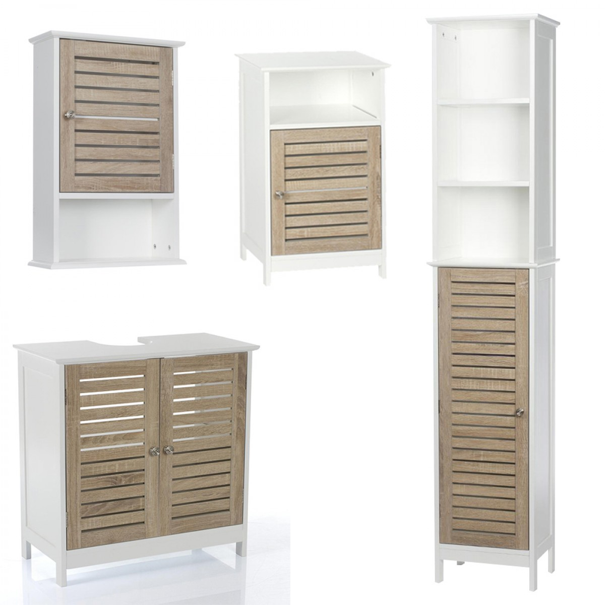 meuble dessous lavabo blanc bois les douces nuits de ma linge de maison. Black Bedroom Furniture Sets. Home Design Ideas