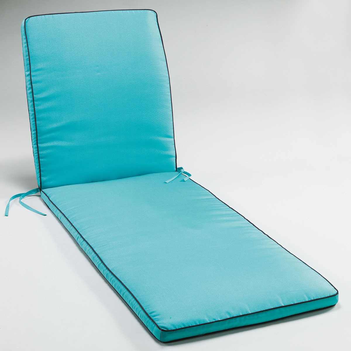 coussin bain de soleil 185x55x4cm bicolore garden aqua. Black Bedroom Furniture Sets. Home Design Ideas