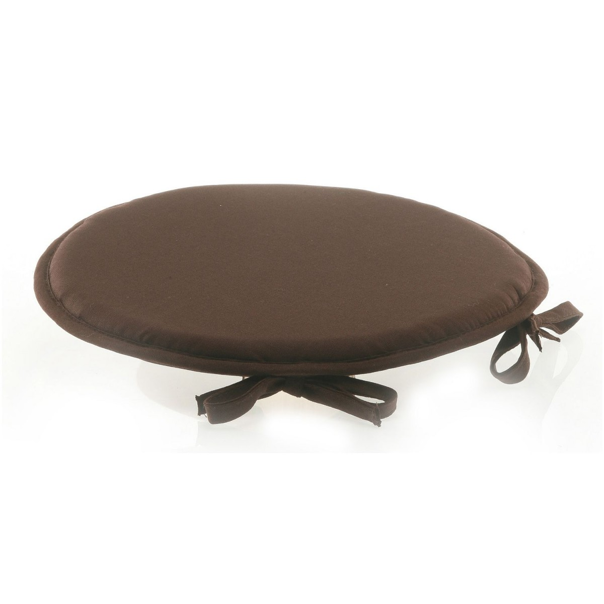 Galette de chaise ronde chocolat for Galette de chaise 50x50