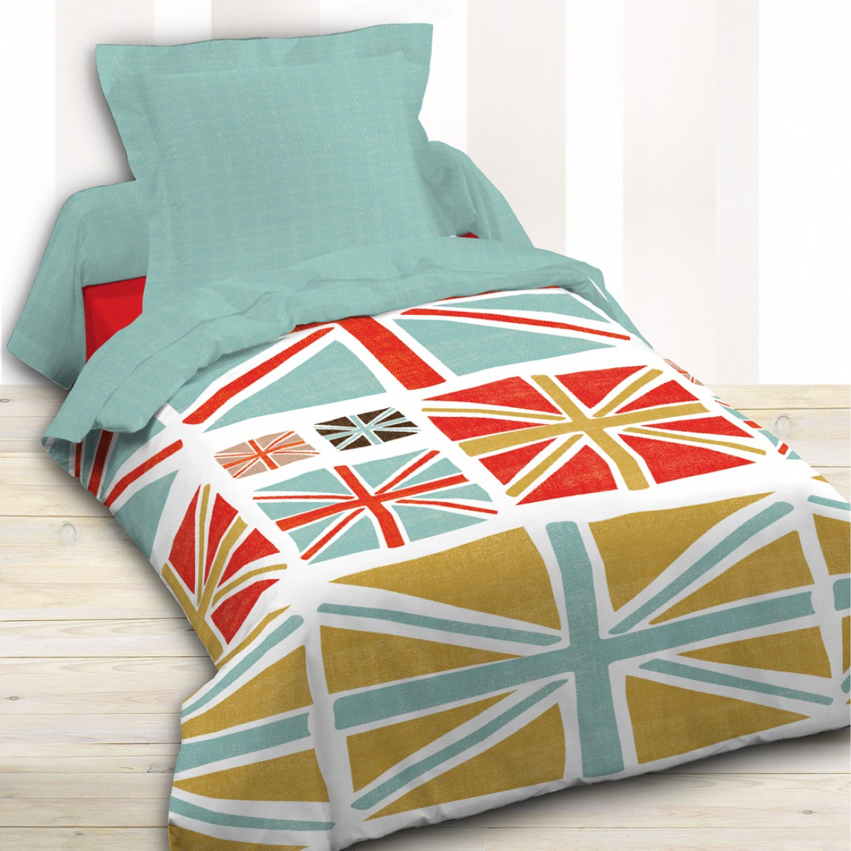 housse couette union jack. Black Bedroom Furniture Sets. Home Design Ideas