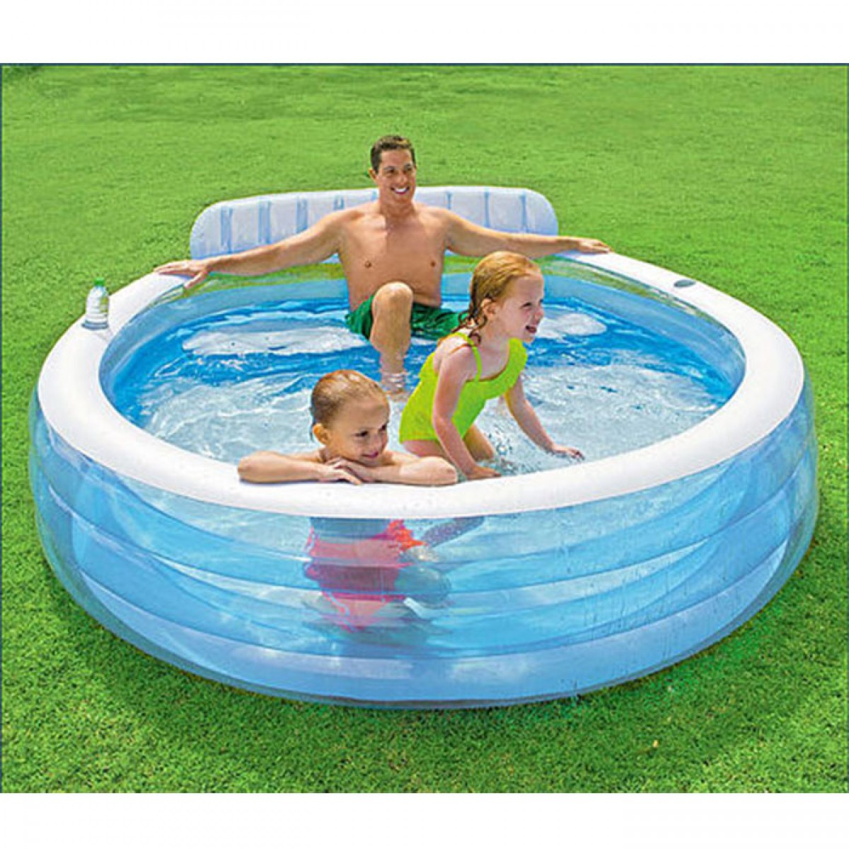 Piscine gonflable avec vidange for Piscine intex gonflable