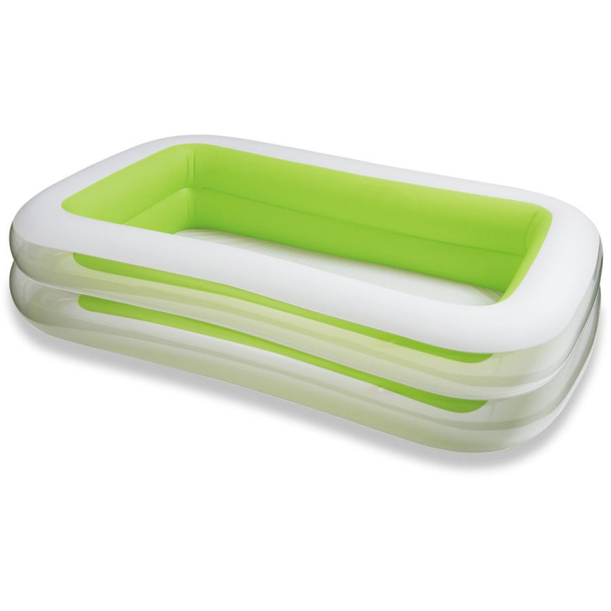 Piscine gonflable verte for Algue rouge piscine