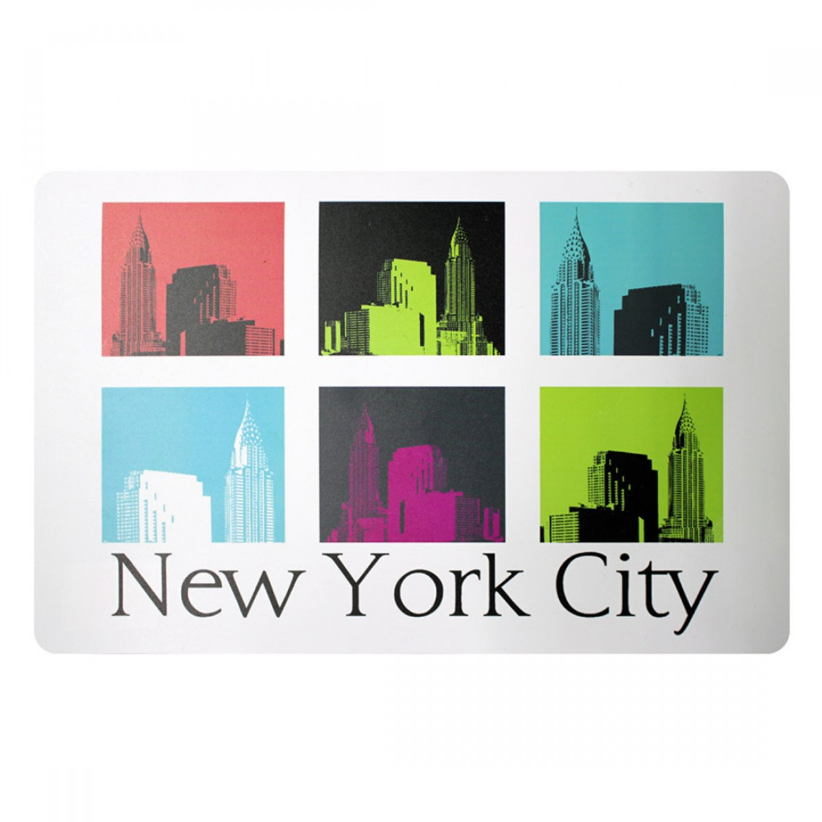 Set de table urban new york les douces nuits de ma - Set de table new york ...