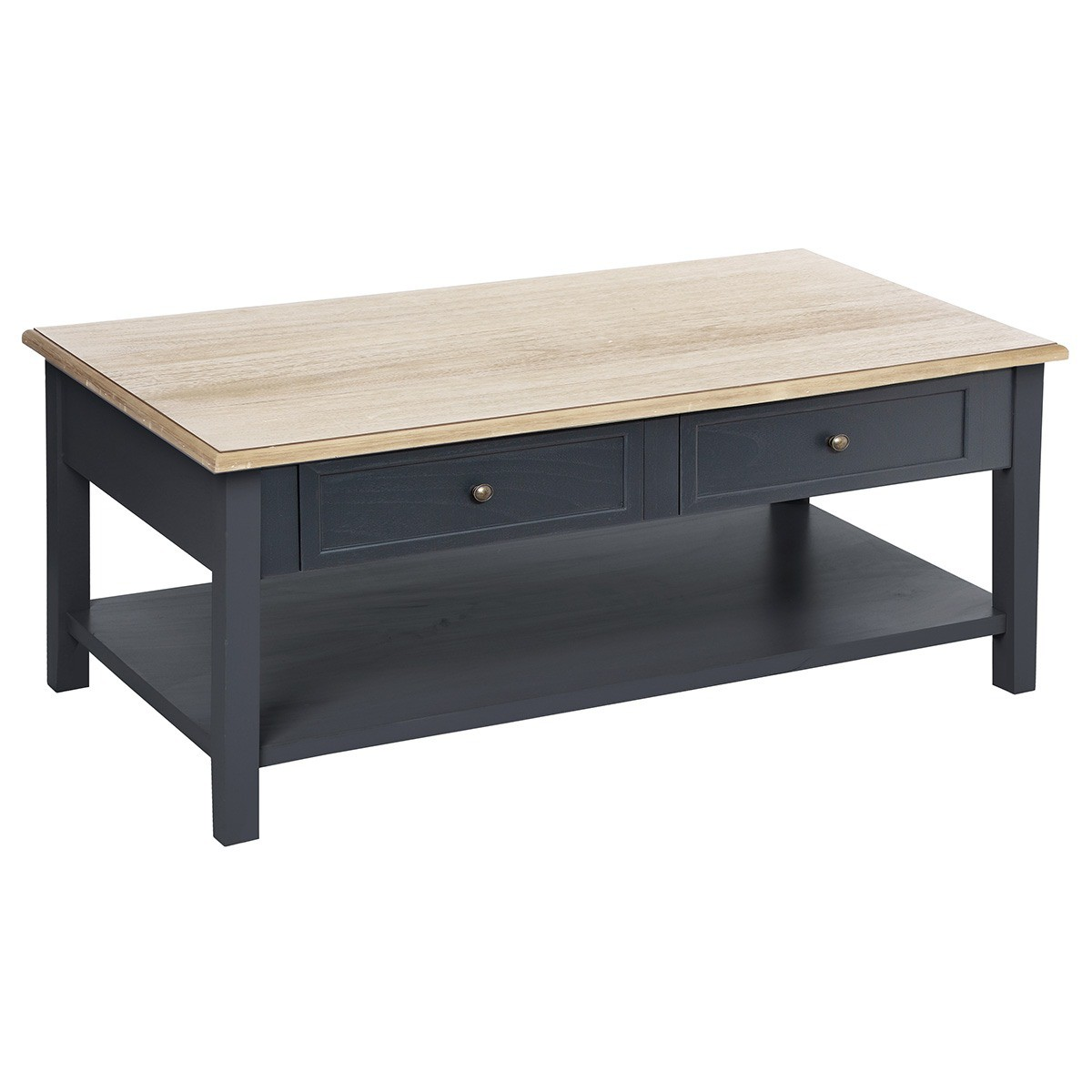 Hiver Damian 4 Table basse tiroirs gf76yYb