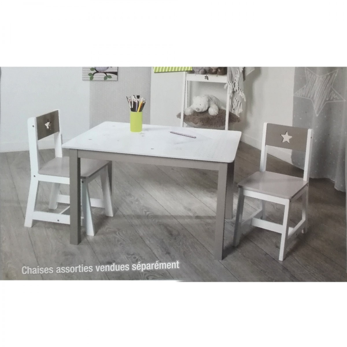 Table Enfant Et Chaise Hoze Home