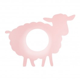 Applique Mouton rose