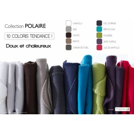 Couverture polaire 180x220 DEEP PURPLE,10 coloris differents!