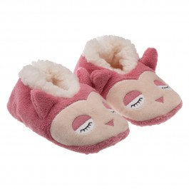 Chaussons Sherpa enfant Chouette