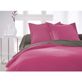 Housse couette 220x240cm 100% Coton 57fils LILLY ROSE