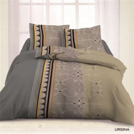 Housse couette 220x240 + 2 taies URSINA