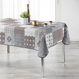Nappe de table 150x240cm Gallinou antitache