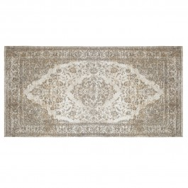 Tapis déco rectangle 80x150 tissé réversible Cubana