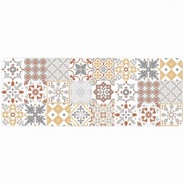 Tapis déco rectangle 57x115 cm EDELWEISS