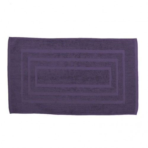 tapis de bain ponge 50x85cm violet les douces nuits de. Black Bedroom Furniture Sets. Home Design Ideas