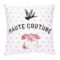 Coussin haute couture