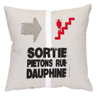 Coussin rue Dauphine