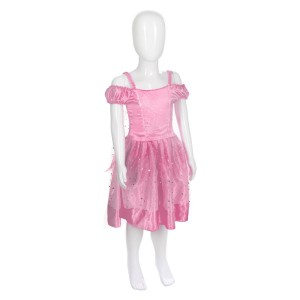 Robe de princesse rose 5/7 ans