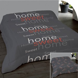 Couette 220x240cm Home Sweet Rouge