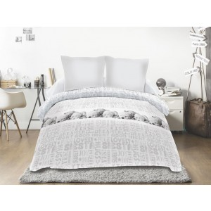 Couette 220x240  SIESTA GRIS