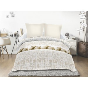 Couette 220x240  SIESTA TAUPE