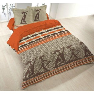 Housse couette 220x240 + 2 taies ZULIKA