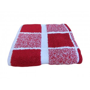 Serviette Toilette CS222 50X100 ROUGE