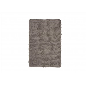 Tapis GAMAY TAUPE 50x80cm 100% Coton 2600gr/m2