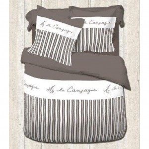 Housse couette 200x200 + 2 taies A LA CAMPAGNE