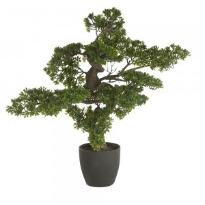 Bonsai artificiel géant avec pot H80cm
