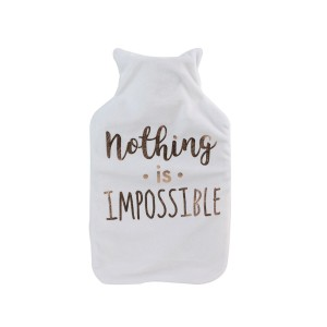 Bouillotte 2 litres Nothing is Impossible