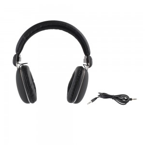 Casque audio quality noir