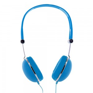 Casque audio Rubber bleu