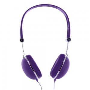 Casque audio Rubber violet