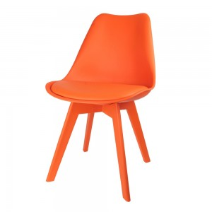 Chaise scandinave Full Couleur orange