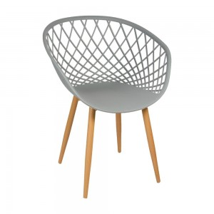 Chaise ZINA gris