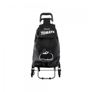 Chariot de shopping 6 roues Wonder Tomate