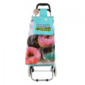 Chariot de shopping trolley DONUTS