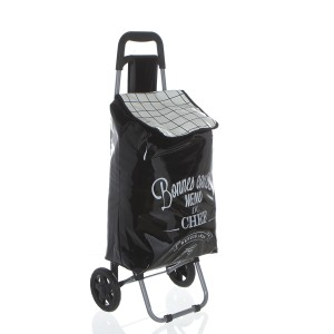 Chariot de shopping Welcome Black