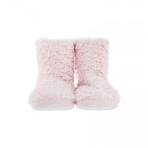 Chaussons fausse fourrure rose 40/41