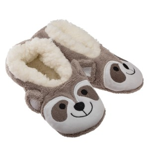 Chaussons Sherpa enfant Ourson
