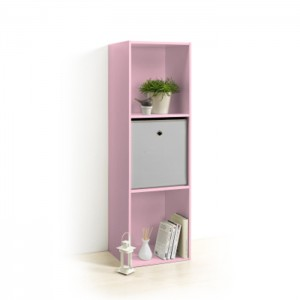 Meuble cube ROSE 3 niches