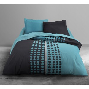 Couette imprimée Today Domino 220x240 polyester
