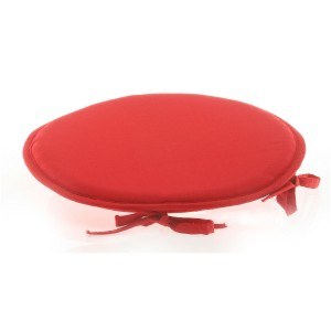 Galette de chaise rouge collection STAR