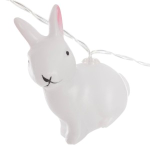 Guirlande lumineuse 10 LED lapin détail