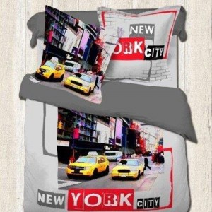 Housse de couette New York yellow Cab 200x200