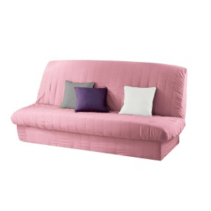 Housse de clicclac rose de la collection ESSENTIEL