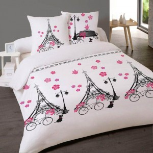 housses de couette les douces nuits de ma linge de maison. Black Bedroom Furniture Sets. Home Design Ideas