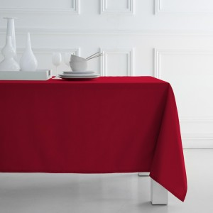 Nappe de table rouge